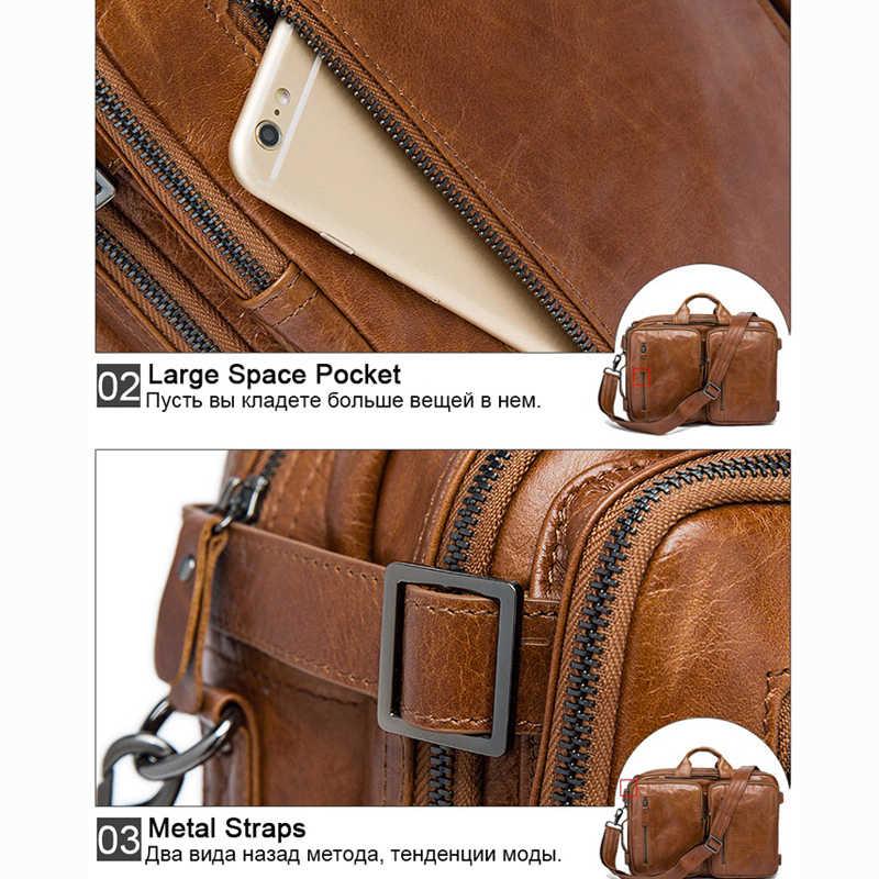 318278792385 ... WESTAL мужская сумка натуральная кожа сумка мужская портфель мужской  портфель из натуральной кожи портфель кожаный мужской ...