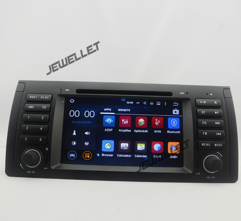 Octa core 1024*600 HD screen Android 8.0 Car DVD GPS radio Navigation for BMW 5 Series M5 E39 X5 E53 Land Rover Range Rover
