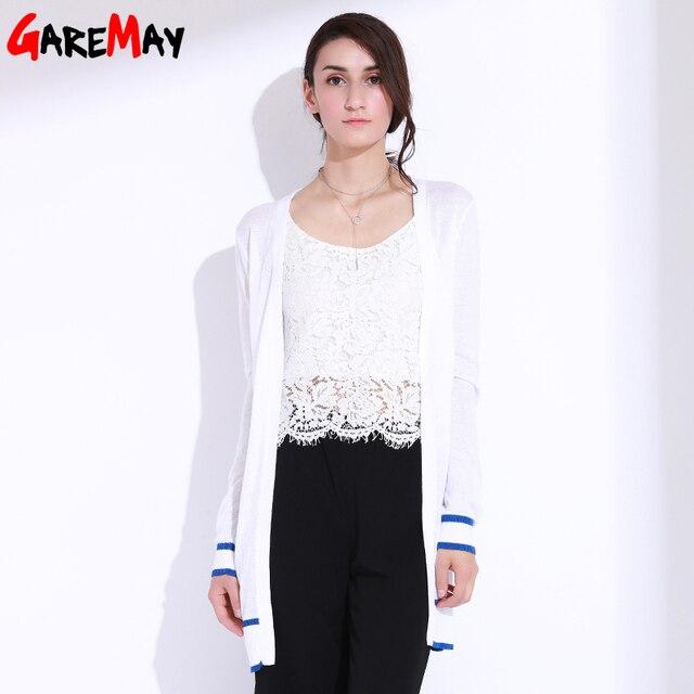 743a28f3469 Long Cardigan Women Long Sleeve Knitwear Female Loose Open Cardigan  Kardigany Damskie Oversized Sweater Shrug GAREMAY 7119