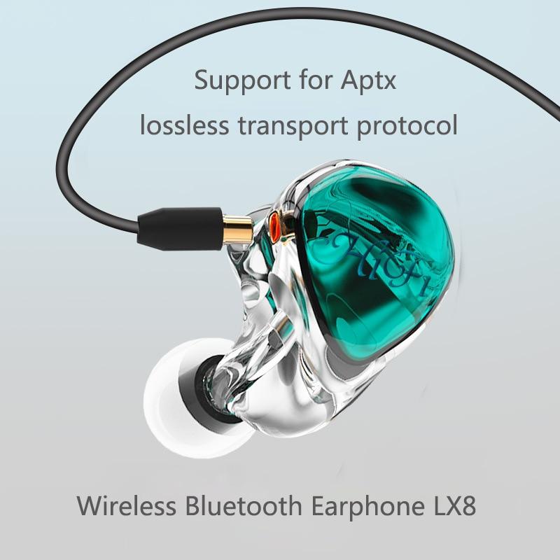 7b3df719ce7 HIFI Bas Kulaklık Spor Kulaklık Gürültü Iptal Kulaklık Su Geçirmez Aptx  Bluetooth 5.0 Kablosuz Ayrılabilir Kulaklıklar