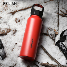 FEIJIAN Thermos Bottle Double Wall Vacuum Insulated Stainless Steel Leak Proof Sports Water Support Customize