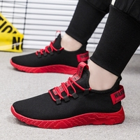 WENYUJH Men Sneakers Breathable Casual No slip Men Vulcanize Shoes Male Air Mesh Lace up Wear resistant Shoes tenis masculino