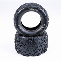 Knobby Tyres Skin for 1/8 HPI Racing Savage XL FLUX Rovan Torland Truck Parts RC MONSTER BRUSHLESS Rc Car TRUCK