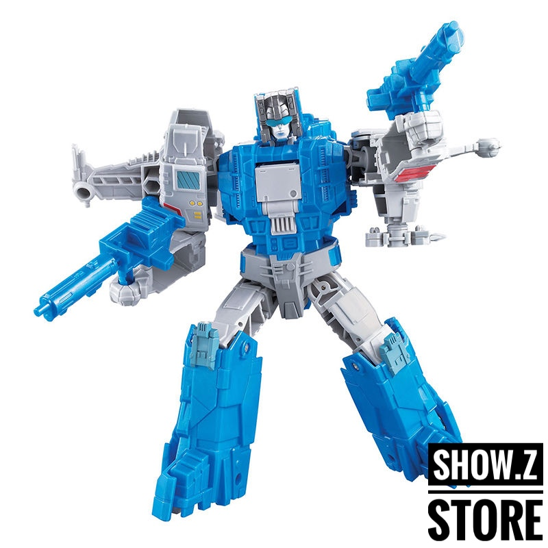 [Show.Z Store] Weijiang Headmasters Seabrow Fighter Oversized Highbrow Transformation Action Figure managing the store