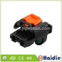 O envio gratuito de 2 conjuntos 2pin auto plástico habitação plug conector de cabo à prova dwaterproof água 1544978-1