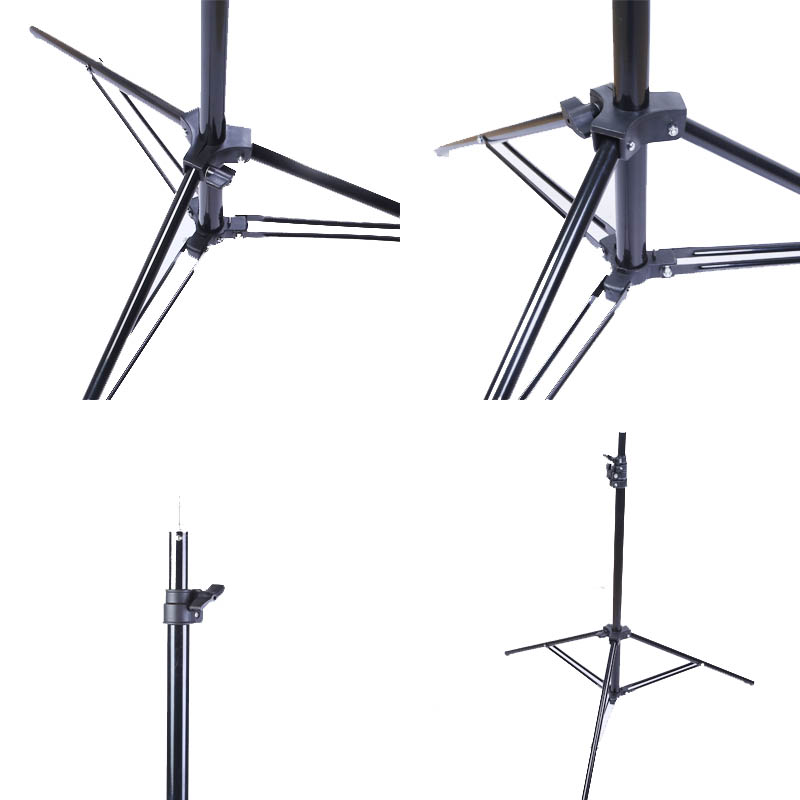 2m Light Stand Tripod Photo Studio Accessories For Softbox Photography Video Flash Lamps Umbrellas Reflector Lighting Vive