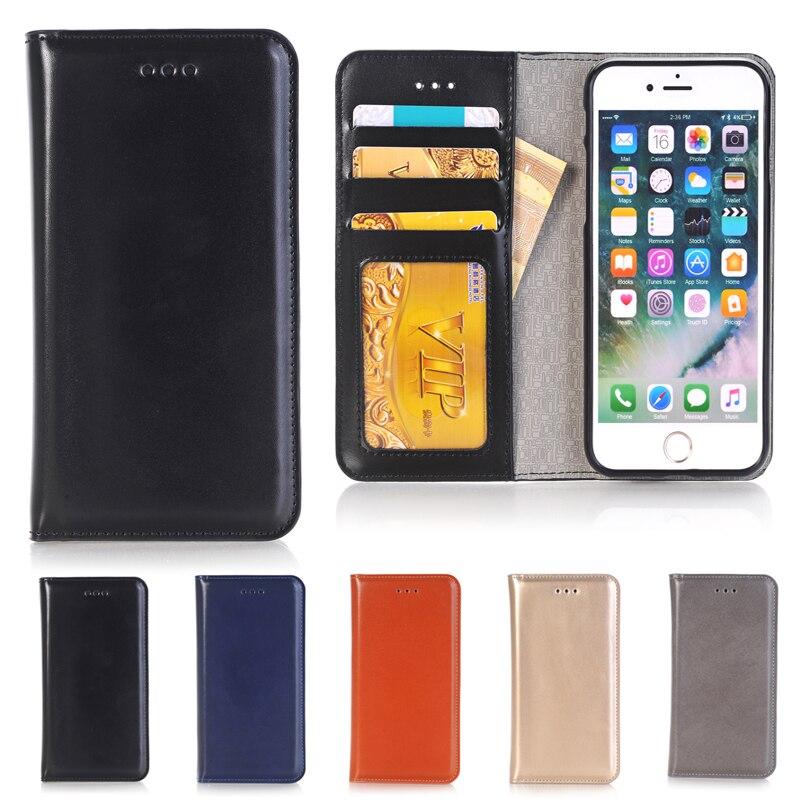 1 iPhone 7 Üçün Pul kisəsi Holster Flip Case, Apple iPhone7 Kart - Cib telefonu aksesuarları və hissələri - Fotoqrafiya 2