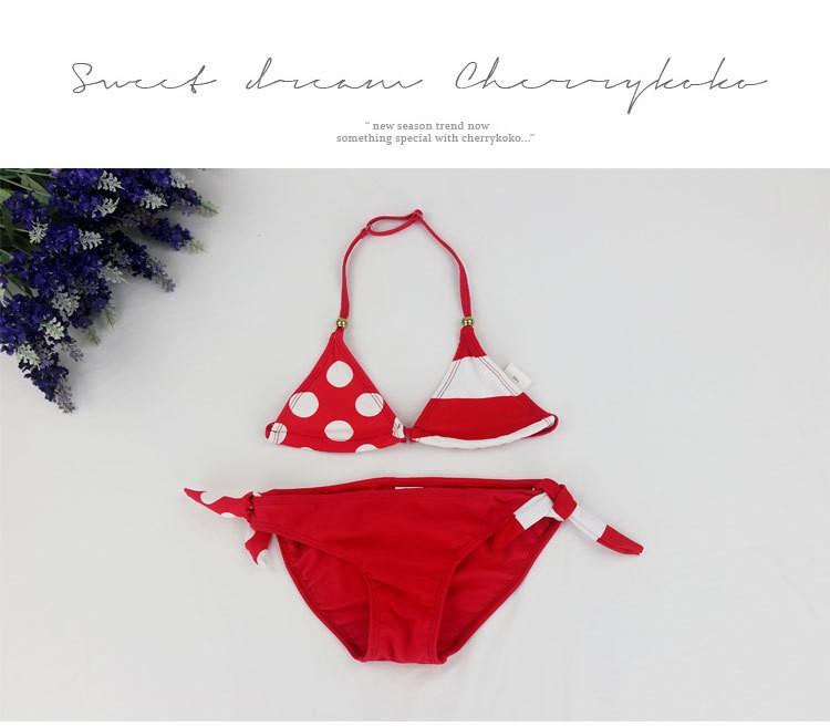 2018 New Children Swimwear Baby Kids Cute Bikini Girls split Two Pieces swimsuit Bathing suit Beachwear kids biquini infantil 19