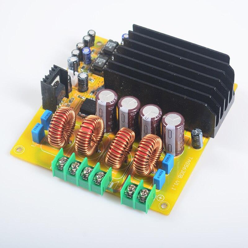 2*300 Вт TAS5630 Hi-Fi dual-канала класса d высокая Мощность цифровой Усилители домашние доска с AD827 предварительно HIFI