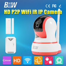BW Mini Wireless Wifi IP font b Camera b font 720P HD P2P IR Cut Filter