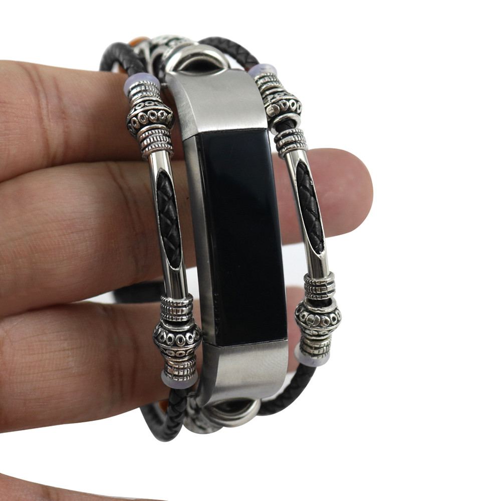 Ersatz Fitness Leder Armband Für Fitbit Alta/Fitbit Alta HR Uhr Für Smart fitness armband smartband
