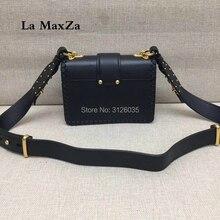 2017 women luxury brand runway cowhide skin handbags CL TJ3