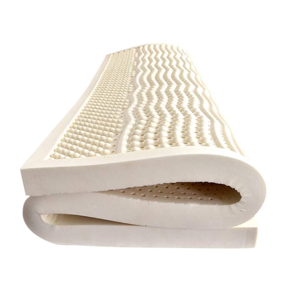Image 4 - Natural Latex Mattress With Outer Inner Case Tatami Mat Cervical Vertebra Neck Protector 7 Zone Body Pressure Release MattressMattresses   -