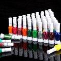 12 Colors 2- Ways Nail Art Brush & Nail Pen Varnish Polish Nail Tools Set + Free Shipping