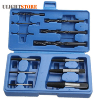 6pcs Damaged Broken Screw Extractor Remover Bolt Stud Easy Remove Out Drill Removal Tool 6pcs Twist