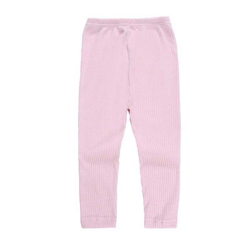 ลูกอมสีสาว Leggings เด็กผู้หญิงดินสอกางเกงข้อเท้ายาว Leggings Skinny Legging สำหรับ 2-6 ปีเสื้อผ้า