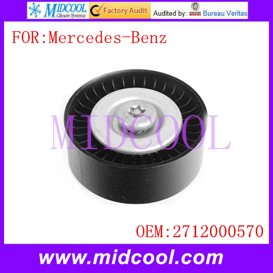 New Belt Tensioner Idler Pulley use OE No. 2712000570 for Mercedes-Benz C230