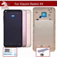 Pour Xiaomi Redmi 4X boîtier arrière couvercle de batterie étui de porte arrière pour Xiaomi Redmi 4X couvercle de batterie pièces de rechange de coque