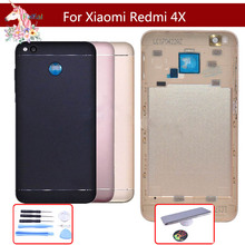 For Xiaomi Redmi 4X Back Housing Battery Cover Rear Door Case For Xiaomi Redmi 4X Battery Cover Shell Replacement Parts luanke 3d relief kickstand cover case for xiaomi redmi 4x