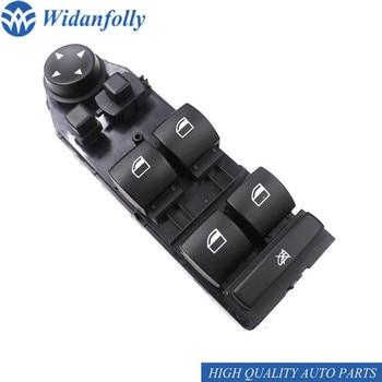 Widanfolly moc okno przełącznik sterujący po stronie kierowcy dla E60 E61 5ER serii 5 2004 2010 61316951909 61316951910 61 31 6 951 909 w Przełączniki i przekaźniki samochodowe od Samochody i motocykle na