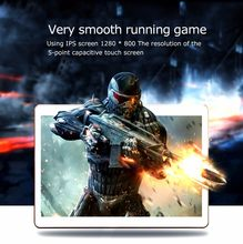 10.1 touch tablet 2 + 32GB free shipping Android 7.0 quad-core dual card dual standby Google game gift quality tablet(China)
