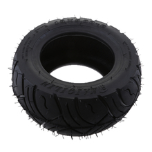 13x5-6 Inch Rubber Tread Tire for Folding Bike Scooters Quad Dirt Good High Temperature Resistance Wear Black