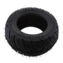 Neumático de banda de rodadura de goma de 13x5-6 pulgadas para patinetes plegables, Quad Dirt Bike, buena resistencia a altas temperaturas, resistente al desgaste, negro