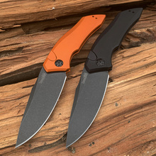 купить New Arrival kershaw 7100 D2 folding knife aluminum Alloy handle outdoor camping hunting survival pocket knives Utility EDC tools недорого