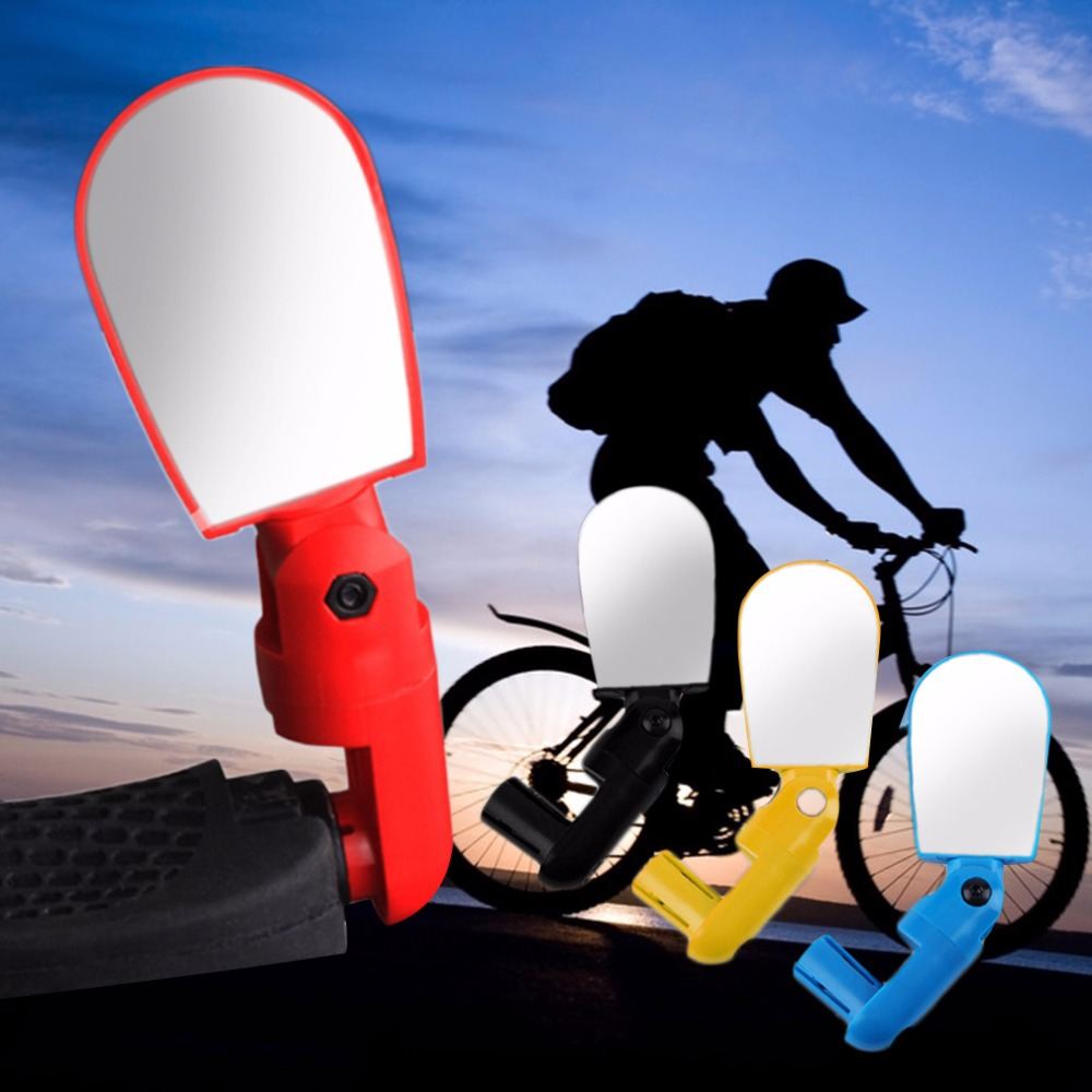 sales promotion mini rotate flexible bike bicycle cycling rearview handlebar mirrorwholesale