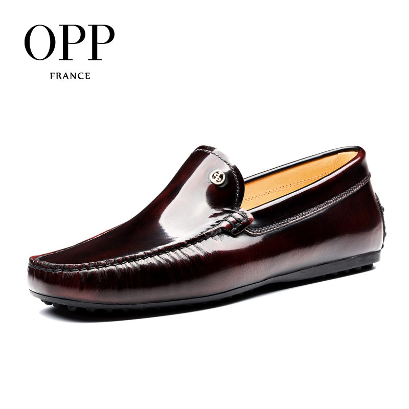 OPP Comfortable Driver Shoes For Men Flats 2017 Genuine Leather moccasins Summer Mens Shoes Cow Leather Shoes Casual Loafers men leather shoes casual 2017 spring summer fashion shoes for men designer shoes casual breathable mens shoes comfort loafers