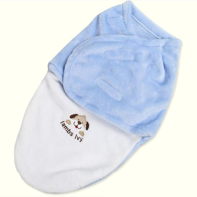 newborn's envelope high quality kawaii Cartoon muslin creative swaddle baby blanket Sleeping Bag wikkeldeken baby saco dormir