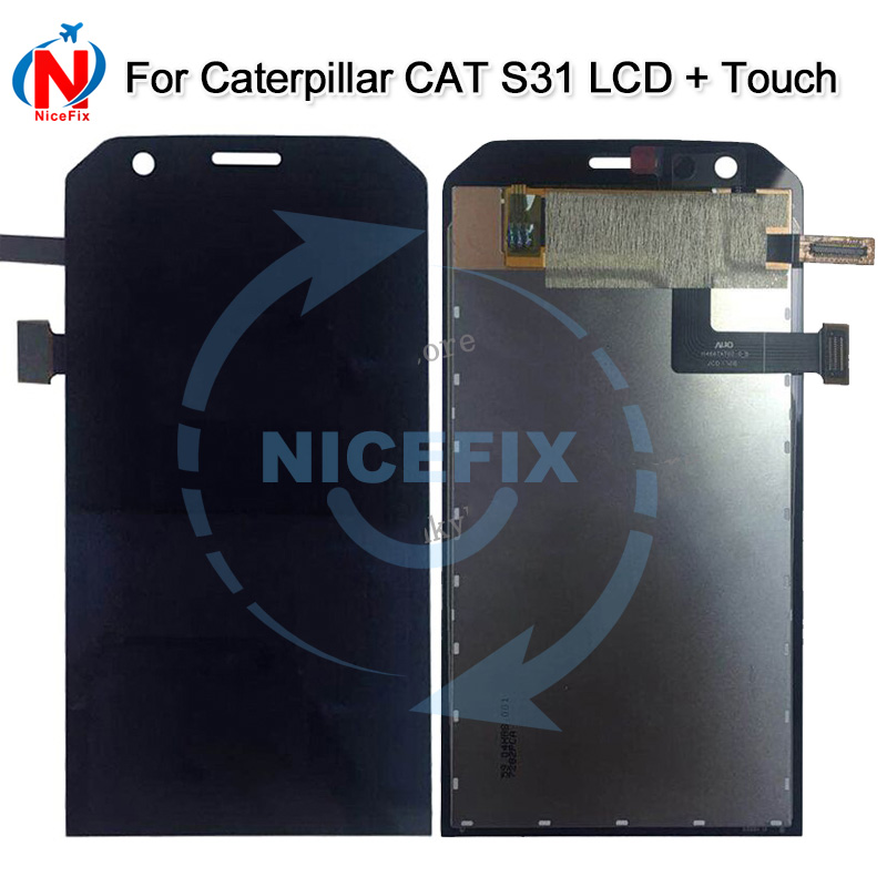 Us 7771 5 Off47 Inch For Caterpillar Cat S31 Full Lcd Display Touch Screen Digitizer Assembly For Cat S31 Lcd With Free Shipping In Mobile