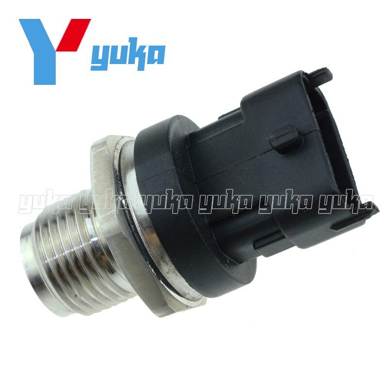 High Performance Fuel Rail Pressure Regulator Sensor 68039886AC For Dodge Ram 2500 3500 Cummins Turbo Diesel