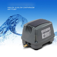 80W 100L Min HAILEA HAP 100 Hiblow Aquarium Fish Tank Septic Oxygen Air Pump Aqua Air
