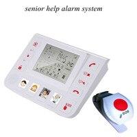 Cuidado de ancianos GSM Sistema de Alarma SOS Función de Intercomunicación
