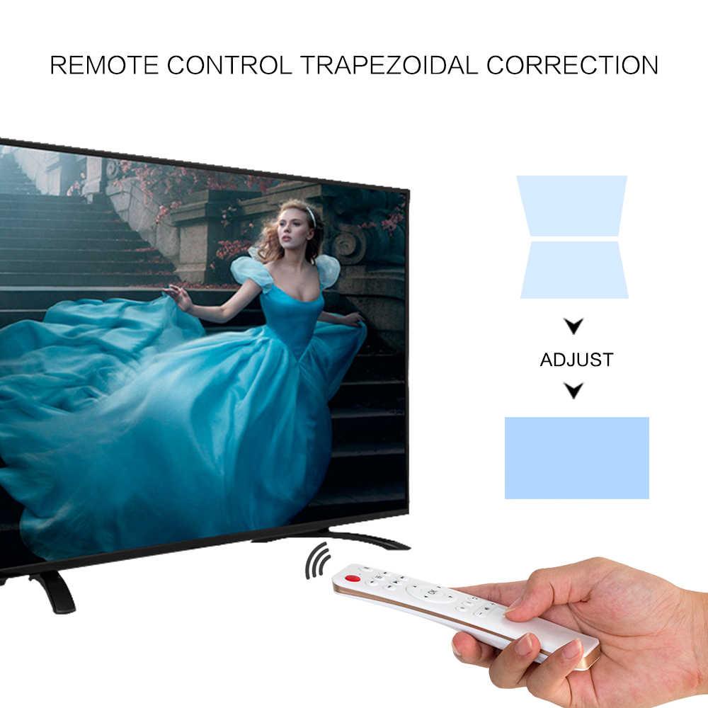CRENOVA новейший Видеопроектор для Full HD 4 K * 2 K проектор для домашнего кинотеатра с 5G wifi Android 6,0 OS 6500 прожектор lumen