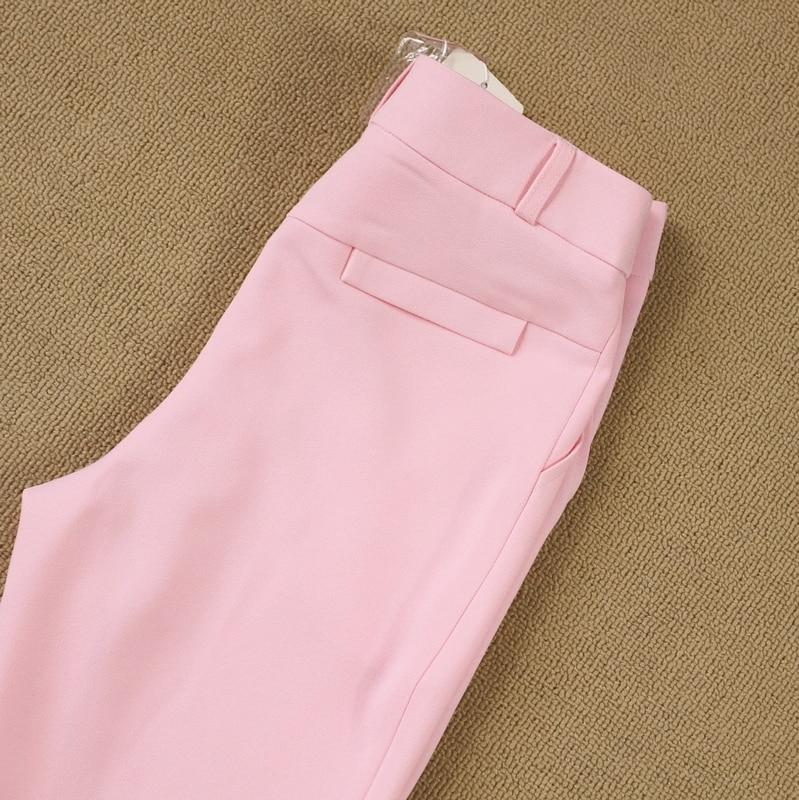 2019 OL Style Fashion Pants Suits Women Single Button Blazer 2 Two Piece Set Jackets & Pants Blazers Tuxedo Outfit