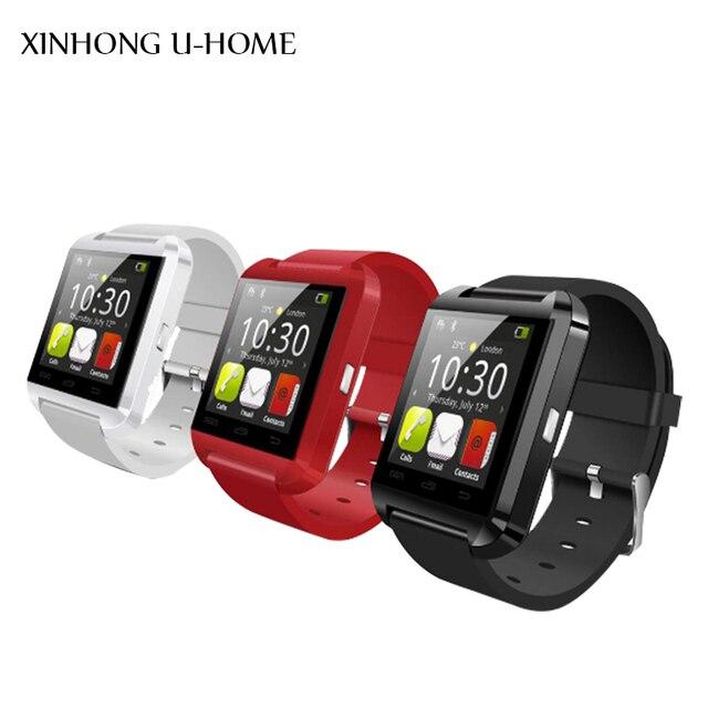 Bluetooth smart watch для IOS Android с поддержка ответ на вызов, сообщение, барометрический альтиметр Смартфон Носимых интеллектуальных Устройств