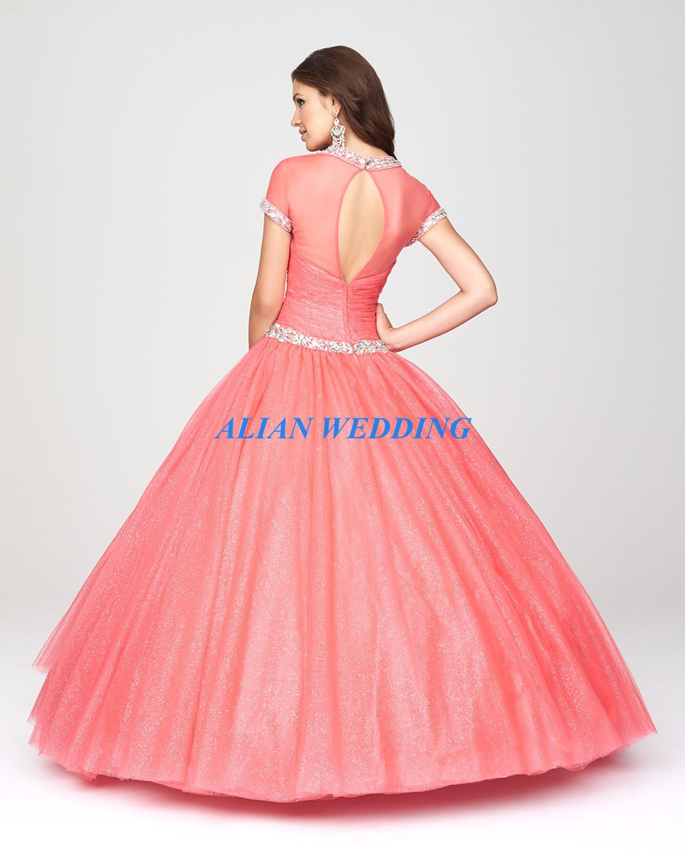 Excepcional Vestidos De Pavo Real Para Prom Molde - Colección de ...