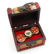 Dragon Ball Z Fidget Spinner with Wooden Box