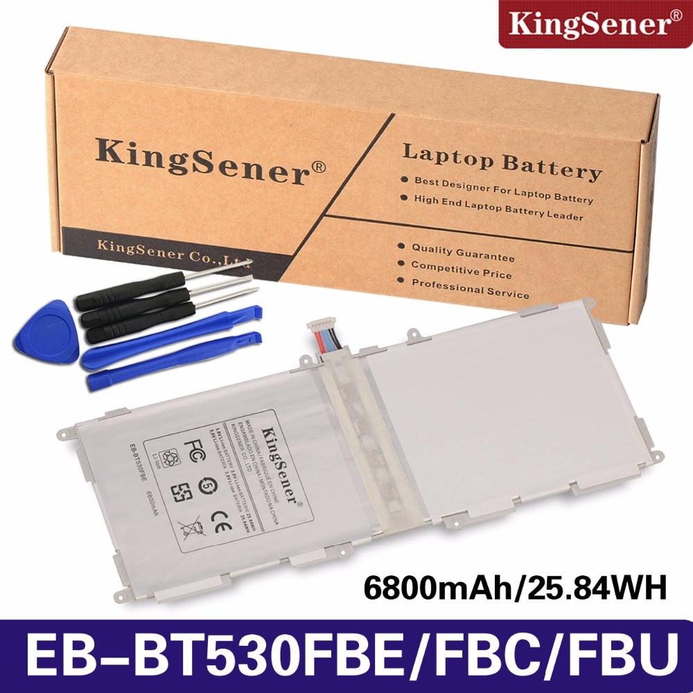 KingSener EB-BT530FBE EB-BT530FBC Battery For SAMSUNG Galaxy Tab 4 10.1 T530 T531 T535 SM-T535 T533 SM-T537 T530NU EB-BT530FBU 10 1 for samsung galaxy tab 4 10 1 sm t530 t530 sm t531 t531 t535 touch screen digitizer sensor front outer glass lens panel