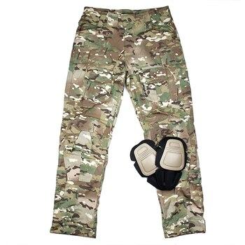TMC USA Original Cutting Size G3 Combat Pants Multicam Tactical Pants Men Gear With Knee Pads(SKU051180)