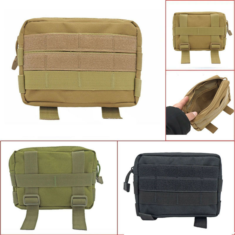 2019 Tactical Molle Pouch Belt Waist Pack Bag Solid Women Men Unisex Casual Outdoor Sport Military Waist Fanny Pack Phone Pocket