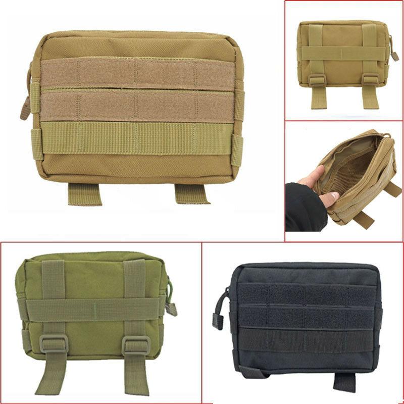 2019 Tactical Molle Pouch Belt Waist Pack Bag Solid Women Men Unisex Casual Outdoor Sport Military Waist Fanny Pack Phone Pocket