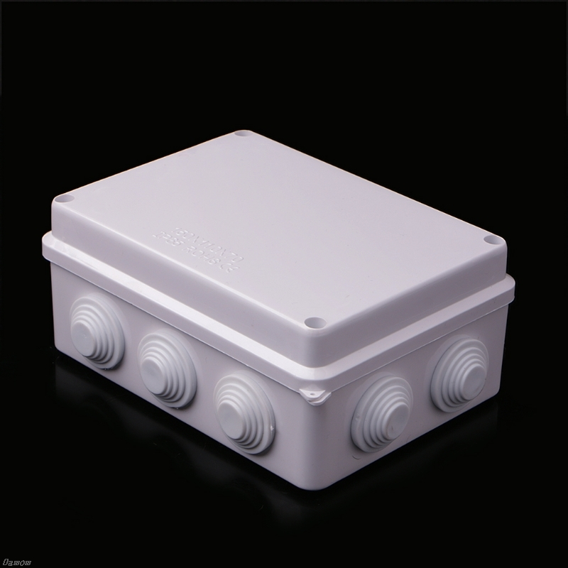 Waterproof IP65 ABS Waterproof Sealed Electric Cable Junction Box 150x110x70mm Damom