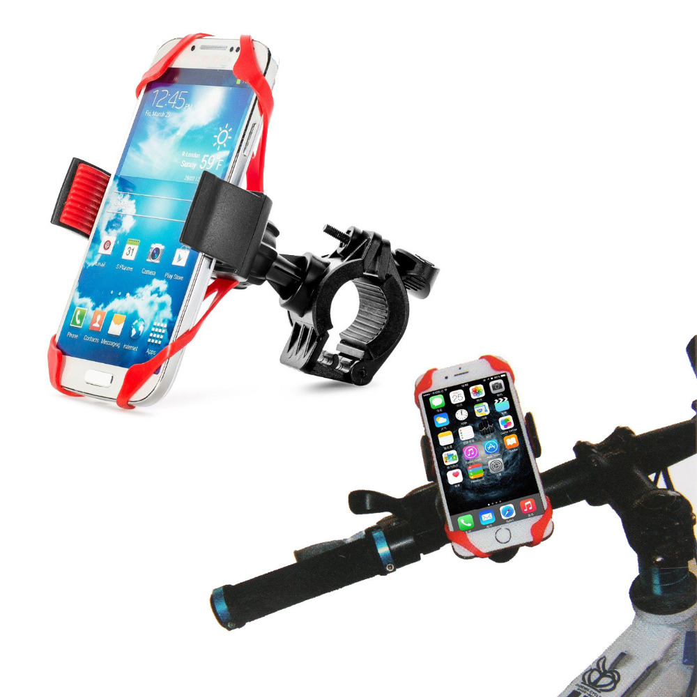Bicycle Mobile Phone Stand Holder Anti drop Mountain Bike