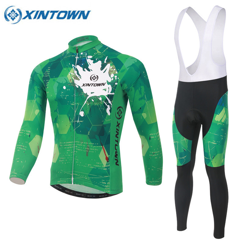 2017 Winter Cycling Clothing Fleece Thermal Cycling Jersey Pro Bike Clothes Men mtb Ropa Ciclismo Invierno Maillot Ciclismo цена 2016