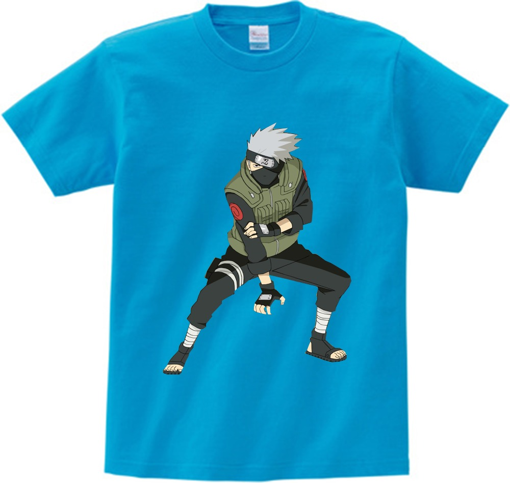 2 15Y Kid New Japanese Anime shirt Naruto Cartoon Children 39 s Tshirt Summer Short Sleeve Boy Girl Baby T shirt Brand tops tee NN in T Shirts from Mother amp Kids