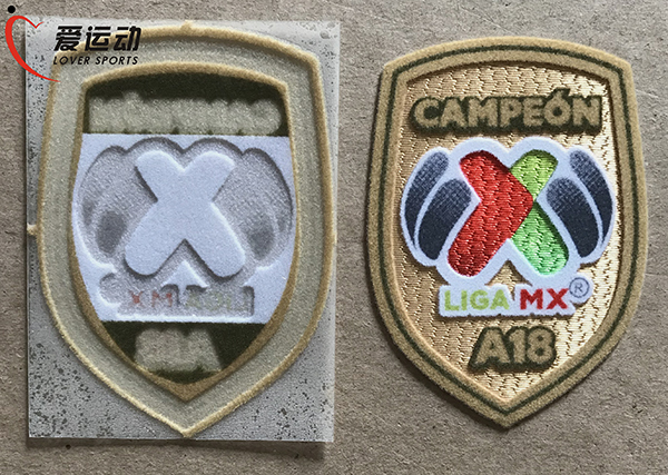 black new Club America Mexican Soccer Club Iron-on Patch