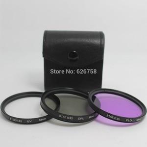 Image 2 - RISE(UK) 52mm UV CPL FLD Polarizing Filter Set Lens Hood For Nikon D600 D3200 D3100 D3000 D7000 D5100 D80 18 55mm DSLR Camera